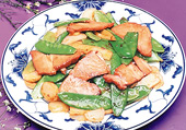 Roast Pork w. Snow Peas