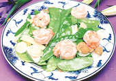 Shrimp w. Snow Peas